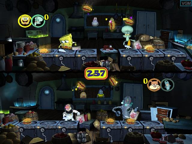 Image in-game du jeu SpongeBob Squarepants - Licht uit, Camera aan! sur Nintendo GameCube