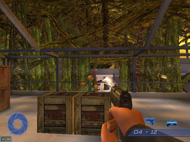 Image in-game du jeu 007 - Agent Under Fire sur Nintendo GameCube