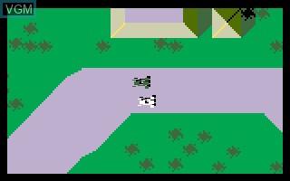 Image in-game du jeu Auto Racing sur Mattel Intellivision