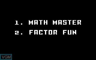Learning Fun I - Math Master Factor Fun