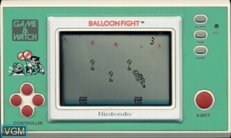 Image in-game du jeu Balloon Fight sur Jeux Electroniques