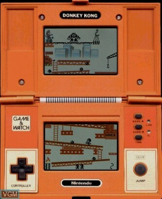 Image in-game du jeu Donkey Kong sur Jeux Electroniques