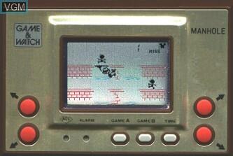 Image in-game du jeu Manhole sur Jeux Electroniques