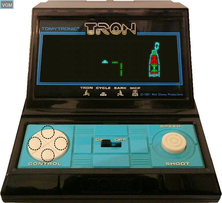 Image in-game du jeu Tron sur Jeux Electroniques