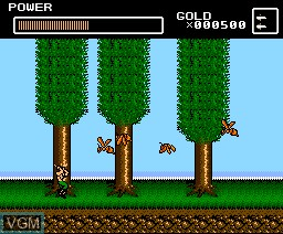 Image in-game du jeu Deep Forest sur MSX2 Disk