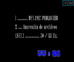 Dynamic Publisher