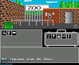 Image in-game du jeu Zoo sur MSX2 Disk