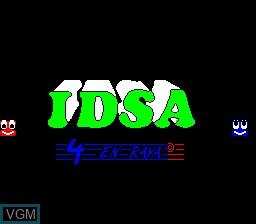 Image de l'ecran titre du jeu 4 En Raya sur MAME