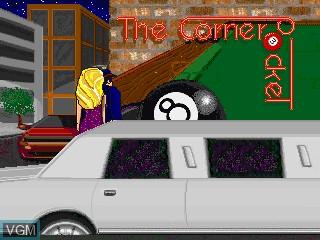 Image du menu du jeu 9-Ball Shootout! sur MAME