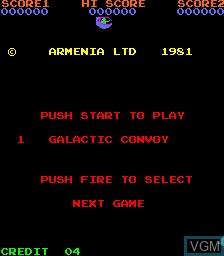 Image du menu du jeu 4 Fun in 1 sur MAME