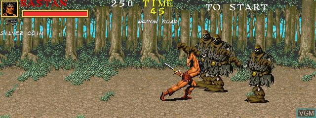 Warrior Blade - Rastan Saga Episode III