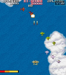 Image in-game du jeu 1943 - The Battle of Midway sur MAME