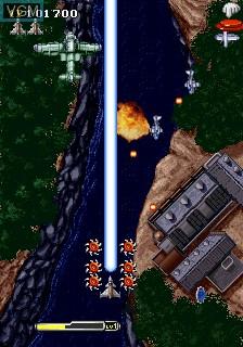 Image in-game du jeu 1945k III sur MAME