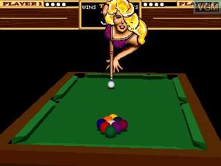 Image in-game du jeu 9-Ball Shootout! sur MAME