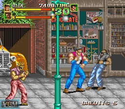 Image in-game du jeu 64th. Street - A Detective Story sur MAME