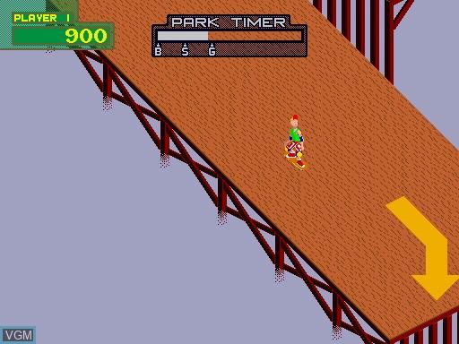 Image in-game du jeu 720 Degrees sur MAME