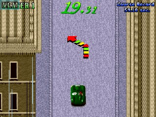 Image in-game du jeu 1000 Miglia - Great 1000 Miles Rally sur MAME