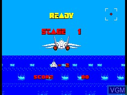 Image du menu du jeu After Burner sur Sega Master System