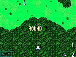 Image du menu du jeu Power Strike sur Sega Master System