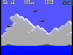 Image in-game du jeu Aerial Assault sur Sega Master System