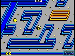 Image in-game du jeu Pac-Mania sur Sega Master System