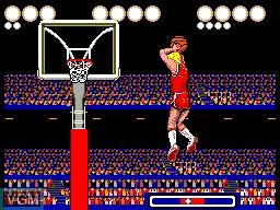 Image in-game du jeu Pat Riley Basketball sur Sega Master System