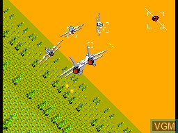 Image in-game du jeu After Burner sur Sega Master System