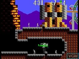 Image in-game du jeu Air Rescue sur Sega Master System