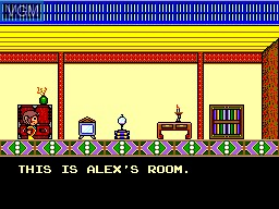 Image in-game du jeu Alex Kidd in High Tech World sur Sega Master System