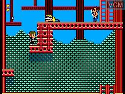Image in-game du jeu Alex Kidd in Shinobi World sur Sega Master System