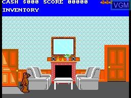 Image in-game du jeu ALF sur Sega Master System