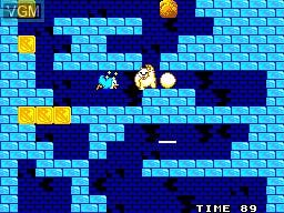 Image in-game du jeu Penguin Land sur Sega Master System