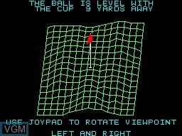 Image in-game du jeu PGA Tour Golf sur Sega Master System