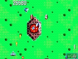 Image in-game du jeu Power Strike sur Sega Master System