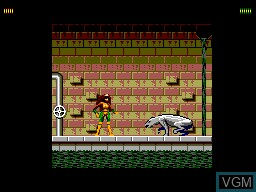 Image in-game du jeu X-Men - Mojo World sur Sega Master System