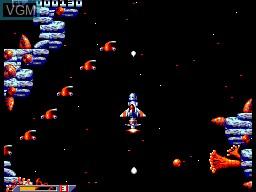 Image in-game du jeu Xenon 2 sur Sega Master System