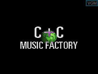 Image de l'ecran titre du jeu Power Factory Featuring C+C Music Factory sur Sega Mega CD