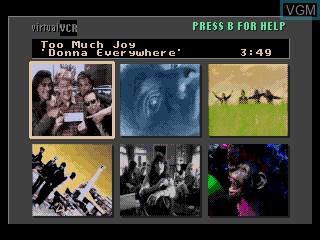 Image de l'ecran titre du jeu The Colors of Modern Rock sur Sega Mega CD