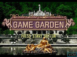 Image de l'ecran titre du jeu WonderMega Collection sur Sega Mega CD