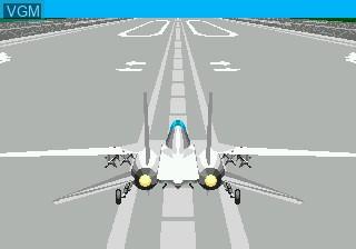 Image du menu du jeu After Burner III sur Sega Mega CD