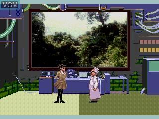 Image du menu du jeu Quiz Scramble Special sur Sega Mega CD