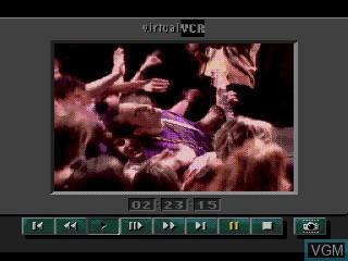 Image du menu du jeu The Colors of Modern Rock sur Sega Mega CD