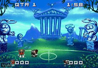 Image in-game du jeu Bouncers sur Sega Mega CD