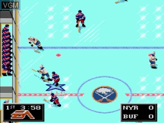 Image in-game du jeu NHL Hockey 94 sur Sega Mega CD
