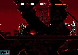 Image in-game du jeu Terminator, The sur Sega Mega CD