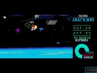 Image in-game du jeu Starblade sur Sega Mega CD