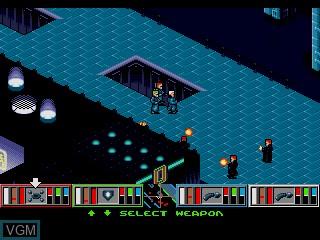 Image in-game du jeu Syndicate sur Sega Mega CD
