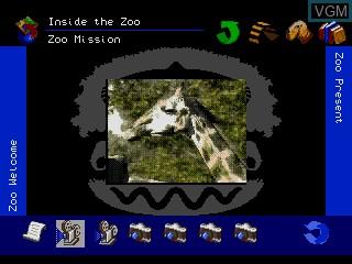 Image in-game du jeu The Animals! sur Sega Mega CD