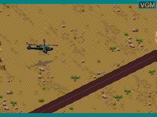 Image in-game du jeu Super Strike Trilogy sur Sega Mega CD