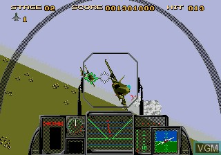 Image in-game du jeu After Burner III sur Sega Mega CD